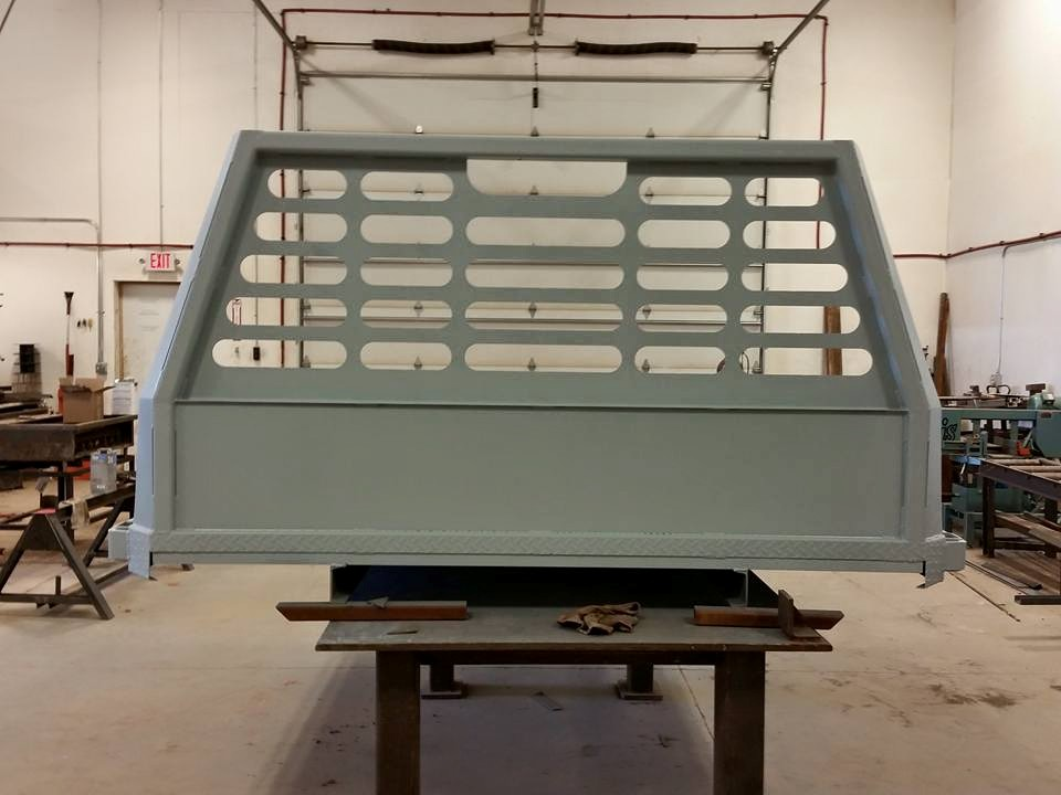 Custom Flatbed for Duramax 1